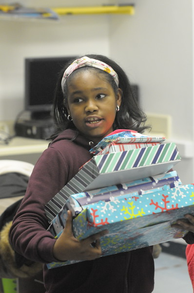 North Hills Education Center holds Holiday Party for local students