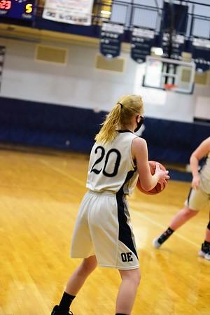 OE Girls Soph. Basketball Vs Romeoville 2021