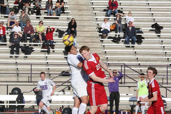 2013-03-29 IHS Boys JV Soccer vs Newport
