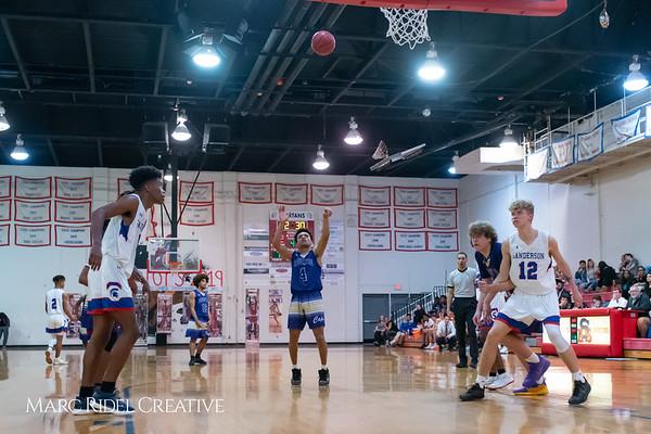 Broughton boys varsity basketball vs Sanderson. February 12, 2019. 750_6436