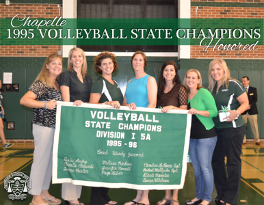 Volleyball State Championship Team 1995