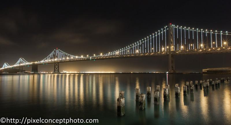 Bay Bridge Lights.JPG
