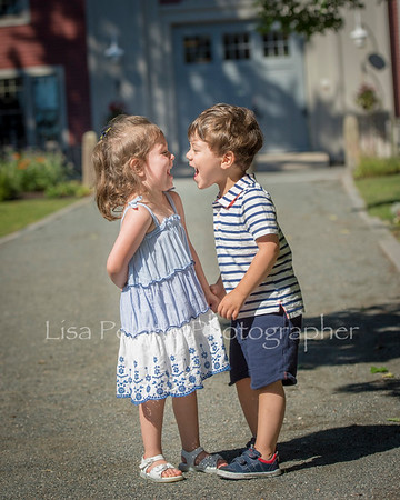 Noah and Claire 3 yrs old July 2018