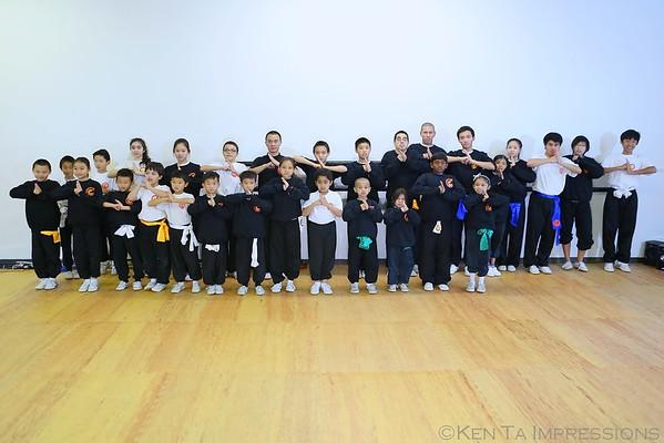 Bing Yang Martial Arts 2015 Holiday Party