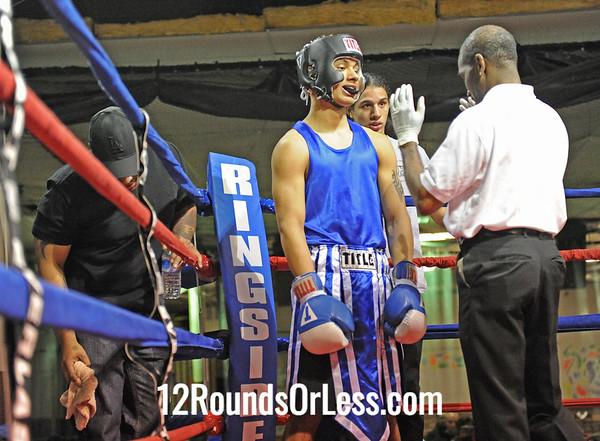 Fred Wilson Jr. (Inner City)  vs Jose Rodriguez (Akron)  Bout # 13