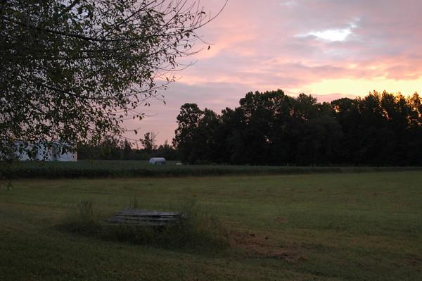 22-September-2009 A Beautiful Sunrise at EverGreene