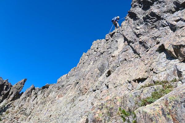 Dewey Peak - RAPPELL