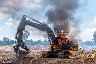 20200806 - City of Mount Juliet - Excavator Fire