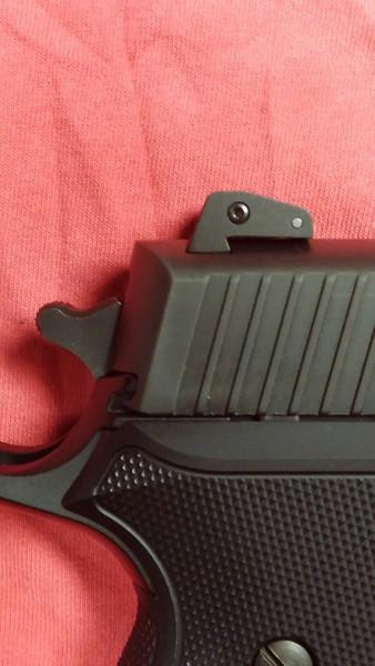 Sig P220 Carry Elite Dark