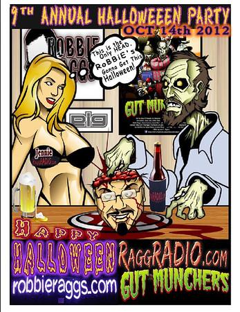 Robbie Raggs Halloween 2012