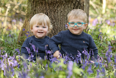 Tracey & Joe's Bluebell Session