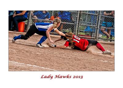 Lady Hawks Vs N Mesquite Two 2013