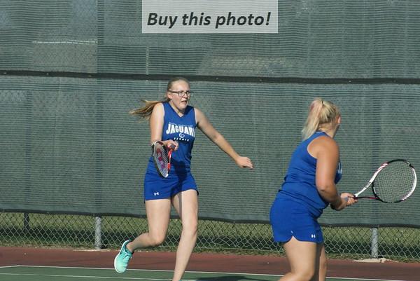 BBE girls' tennis v. Milbank