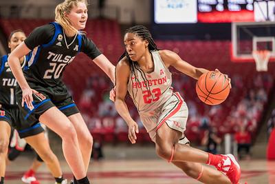 2021-Jan-13 NCAA Women's Basketball | Houston Cougars v Tulsa Golden Hurricanes