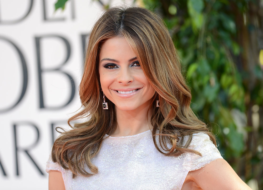 Description of . TV personality Maria Menounos arrives at the 70th Annual Golden Globe Awards held at The Beverly Hilton Hotel on January 13, 2013 in Beverly Hills, California.  (Photo by Jason Merritt/Getty Images)