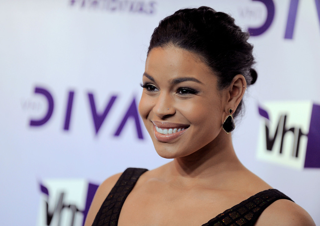 . Jordin Sparks arrives at VH1 Divas on Sunday, Dec. 16, 2012, at the Shrine Auditorium in Los Angeles. (Photo by Jordan Strauss/Invision/AP)