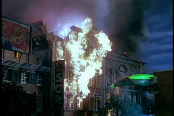1953, War Of The Worlds - Downtown Destroyed