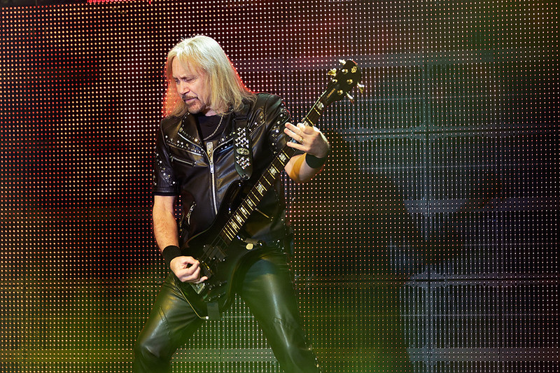 . Ian Hill of Judas Priest at The Fox on Oct. 19, 2014. Photo by Ken Settle