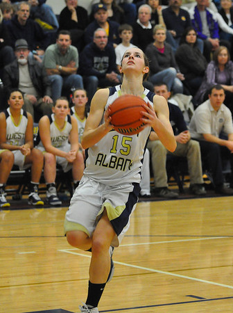 West Albany vs. South Albany Girls Basketball