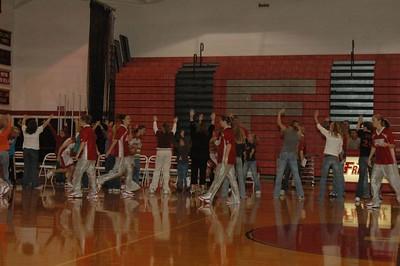 Girls Varsity Basketball  - 2005-2006 - 10/27/2005 vs. Spring Lake