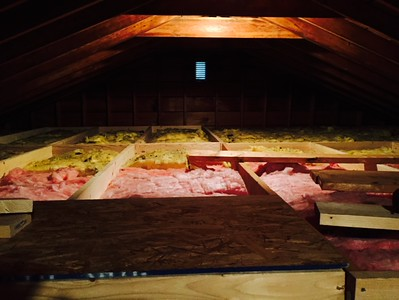Attic Floor - June-July 2015