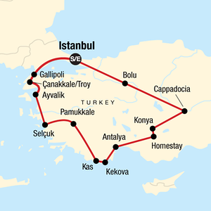 Best 7 day tour of Turkey