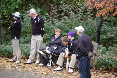 2011 Varsity Golf at State Tournament