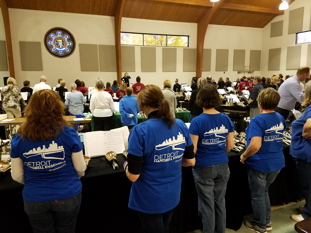 DHE is an annual participant in the Eaton Rapids Handbell Festival.