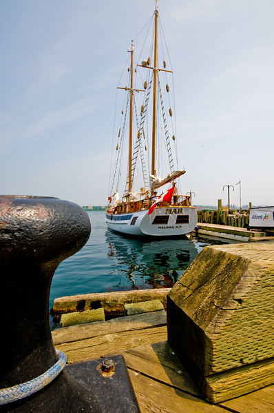 The Mar, docked at Halifax Harbor