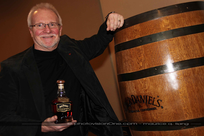 Herb Helbig with his special Jack Daniels.