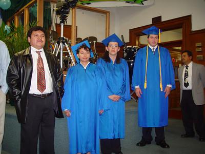Graduación del 2003