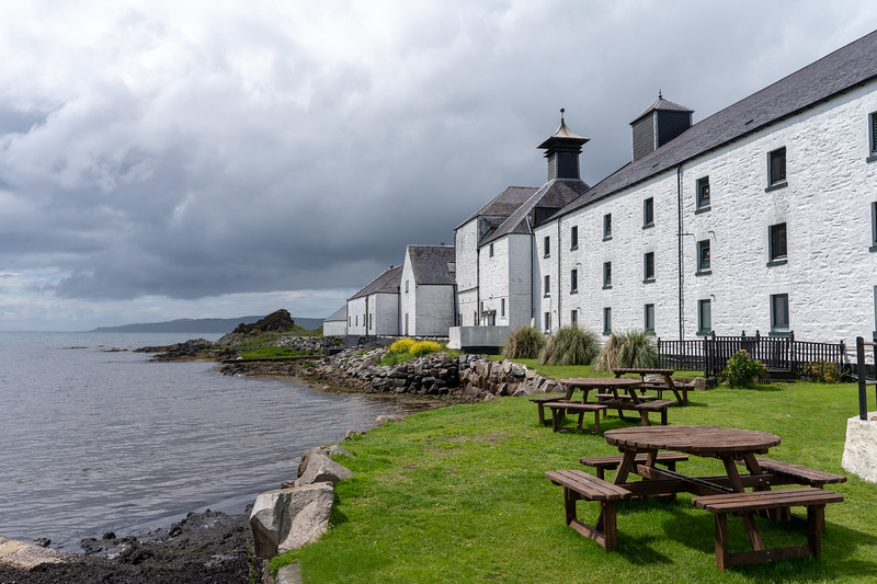 Laphroaig Distillery on Islay
