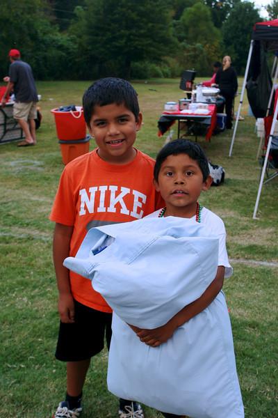 Blackwell Bears Football - Alberto and Michael
