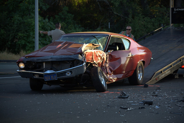 08192010 Accident at Ridge and New York Ranch Road sends 3 to hospital