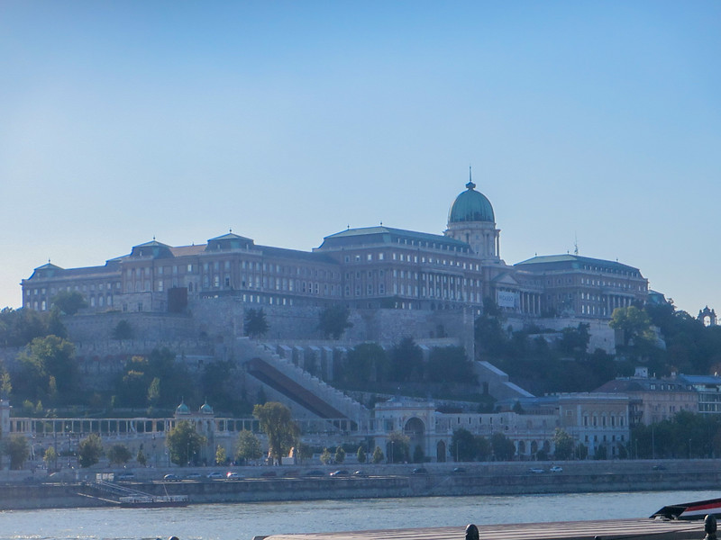 Buda Castle, from Pest