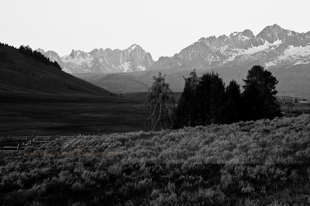 Idaho,Black and White Fine Art.