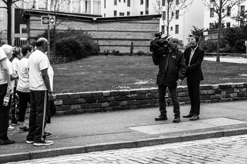 Fondling the Camera Man