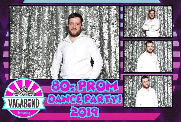 Vagabond 80s party 2019