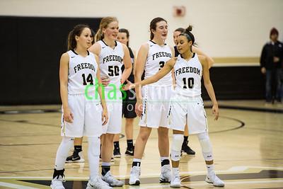2018.01.19 Girls Basketball: Tuscarora @ Freedom
