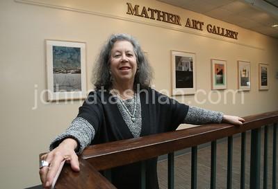 Trinity College - Artist Patricia Moss-Vreeland Art Exhibit - April 2, 2016