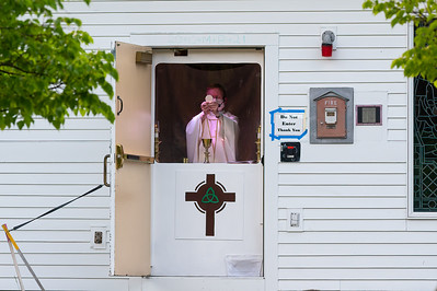 Last Side Door Mass by Father Maher