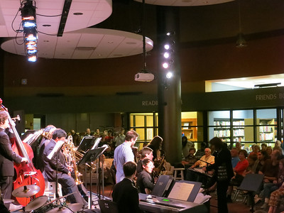 Playing @ the Plaza-Hoover High School First Edition Jazz Band October 17, 2013