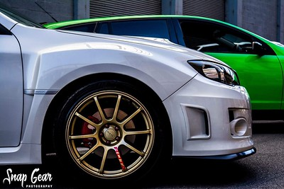 Kyle's 2013 WRX on 18x8.5 Gold G-Force