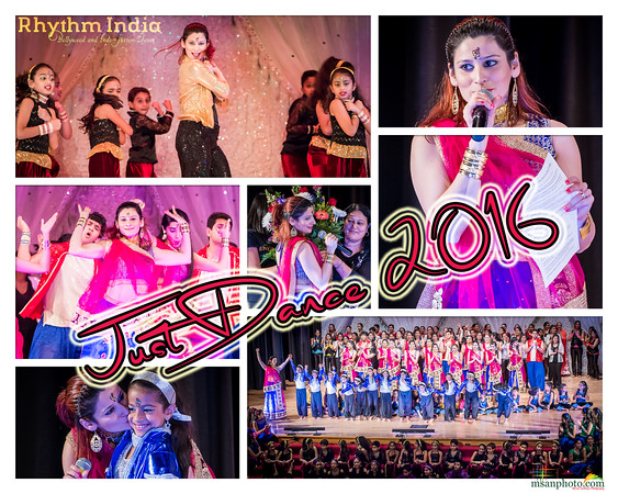 "Rhythm India's ""Just Dance 2016"" (4:00PM)"