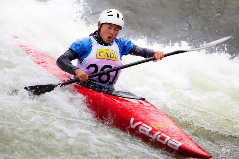 Li-Lu (China), K1 Heats - ICF Slalom World Cup 2010, La Seu d'Urgell (Spain)