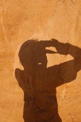 Mark's shadow