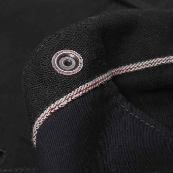 IHSH-166 - Superblack 12oz Selvedge Denim CPO Style Western Shirt-6233.jpg