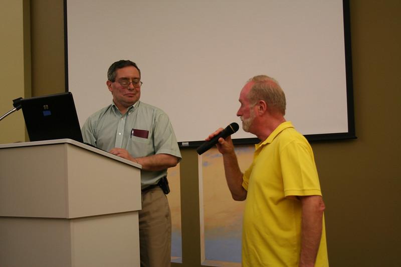 Fr. Ed Kilianski accepts his election as provincial councilor.