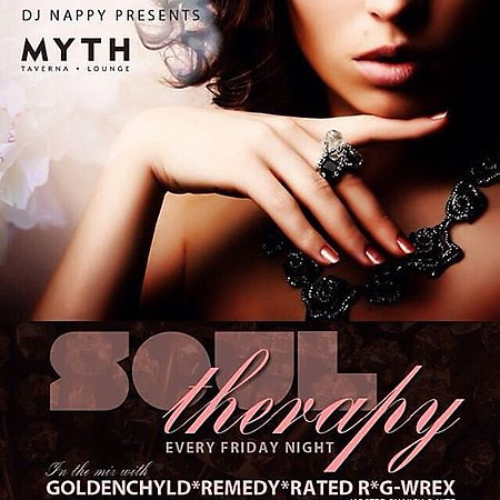 DJ Nappy Presents Soul Therapy @ Myth 11.27.15