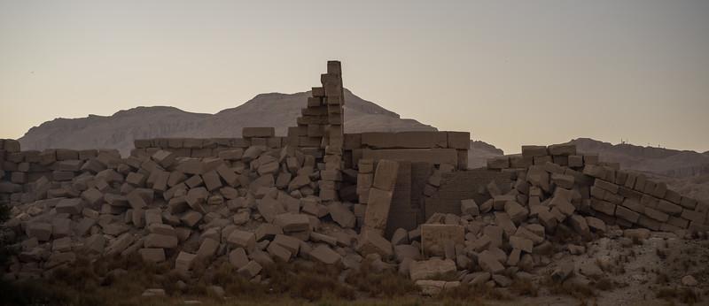 Restos del Rameseum